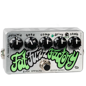 USED ZVEX FAT FUZZ FACTORY WITH BOX