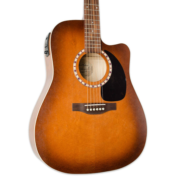 ART & LUTHERIE CUTAWAY CEDAR ANTIQUE BURST WITH PICKUP