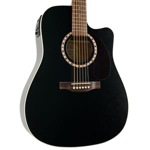 ART & LUTHERIE CUTAWAY CEDAR BLACK WITH PICKUP