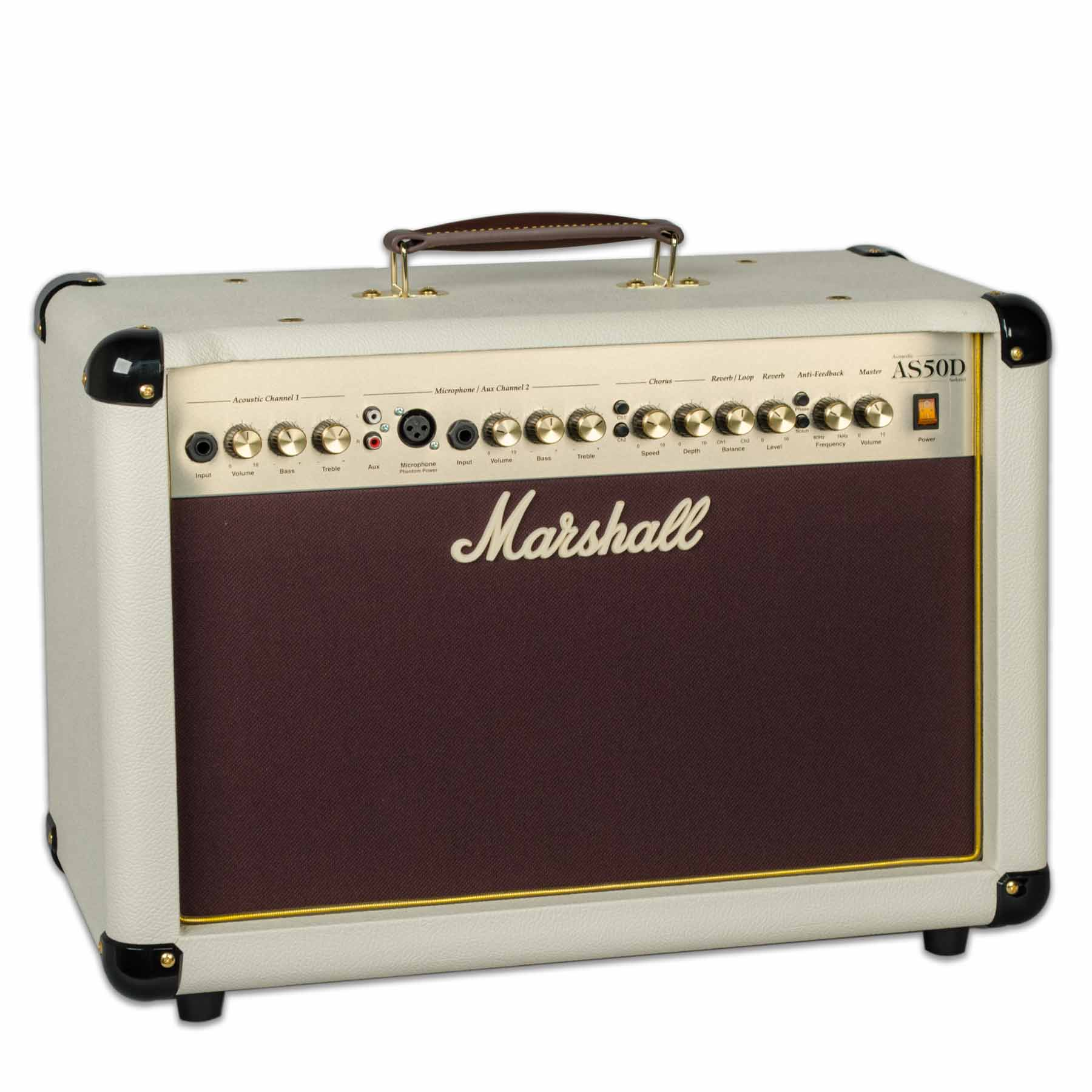 MARSHALL AS50DC-C CREAM ACOUSTIC AMPLIFIER