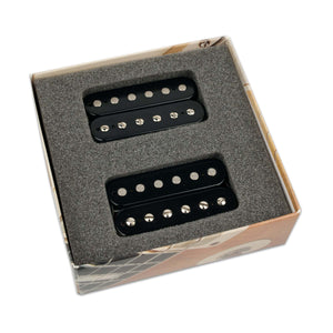 BARE KNUCKLE 6 STRING THE MULE HUMBUCKER OPEN SET BLACK