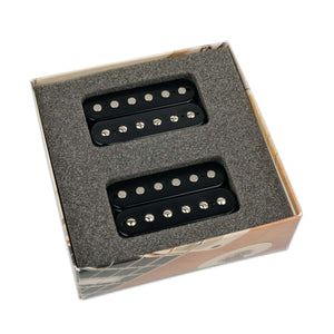 BARE KNUCKLE 6 STRING NAILBOMB HUMBUCKER OPEN SET BLACK