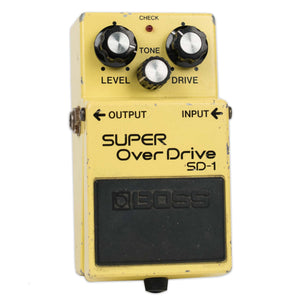 USED BOSS SD-1 OVERDRIVE