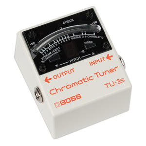 BOSS SWITCHLESS CHROMATIC TUNER