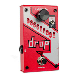 DIGITECH DROP POLYPHONIC DROP TUNING PITCH SHIFTER