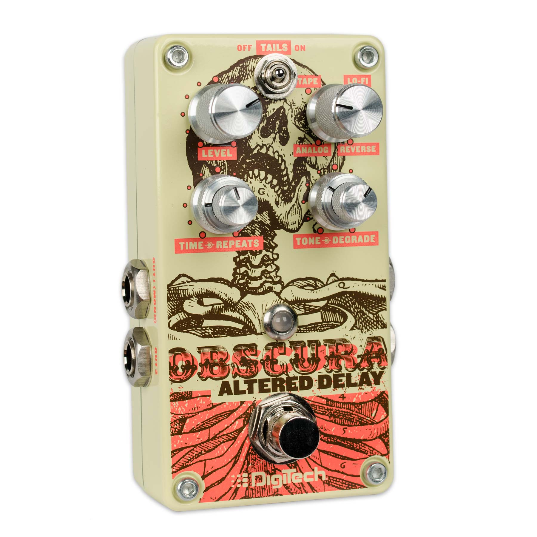 DIGITECH OBSCURA ALTERED DELAY WITH 4 DELAY MODES