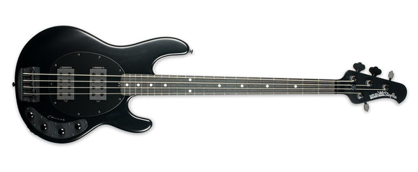 ERNIE BALL MUSIC MAN STINGRAY HH STEALTH BLACK