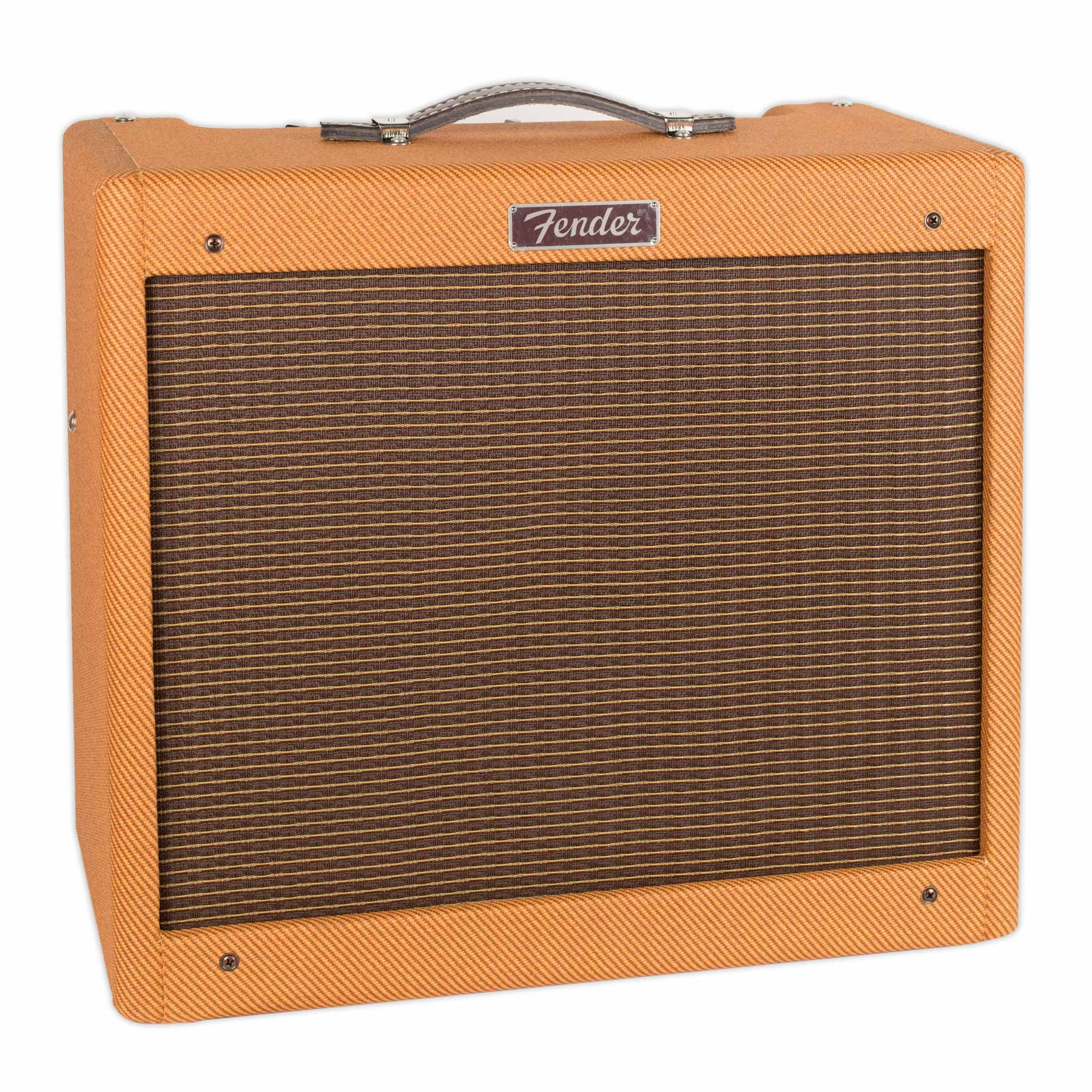 FENDER BLUES JUNIOR LTD LAQUERED TWEED WITH JENSEN C12