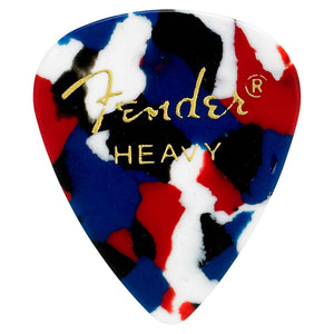 FENDER 351 SHAPE PICKS 12-PACK - CONFETTI HEAVY