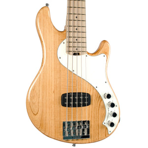 FENDER AMERICAN DELUXE DIMENSION BASS V NATURAL MN