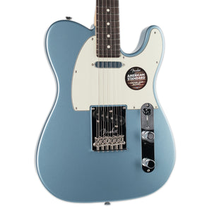 FENDER MAGNIFICENT 7 LIMITED EDITION AMERICAN STANDARD TELECASTER WITH PAINTED HEADCAP ICE BLUE METALLIC