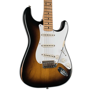 FENDER ROAD WORN 50'S STRAT 2 TONE SUNBURST