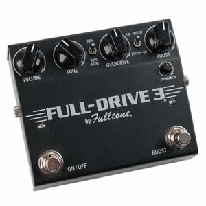 USED FULLTONE FULL DRIVE 3 OVERDRIVE W/BOX
