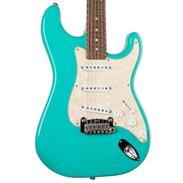 USED G&L LEGACY USA BUILT SEAFOAM WITH CASE