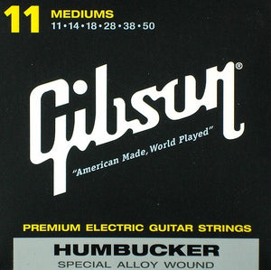 GIBSON HUMBUCKER STRINGS SPECIAL ALLOY WOUND MEDIUM 11-50