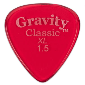 GRAVITY PICKS CLASSIC XL, Bulk, 1.5mm