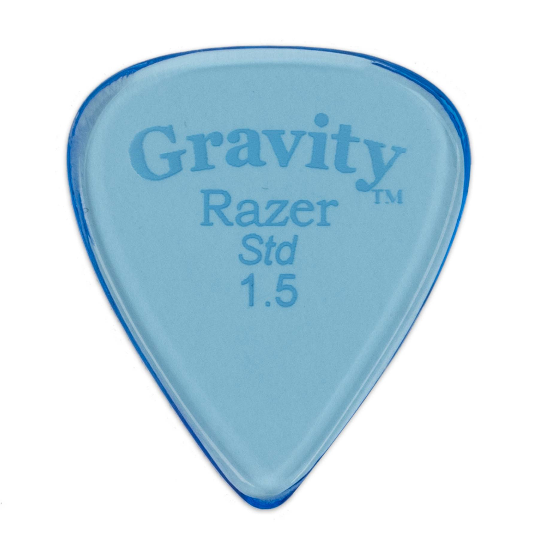 GRAVITY PICKS RAZER STANDARD, Bulk, 1.5mm