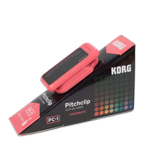 KORG PITCHCLIP CLIP ON CHROMATIC TUNER - PINK