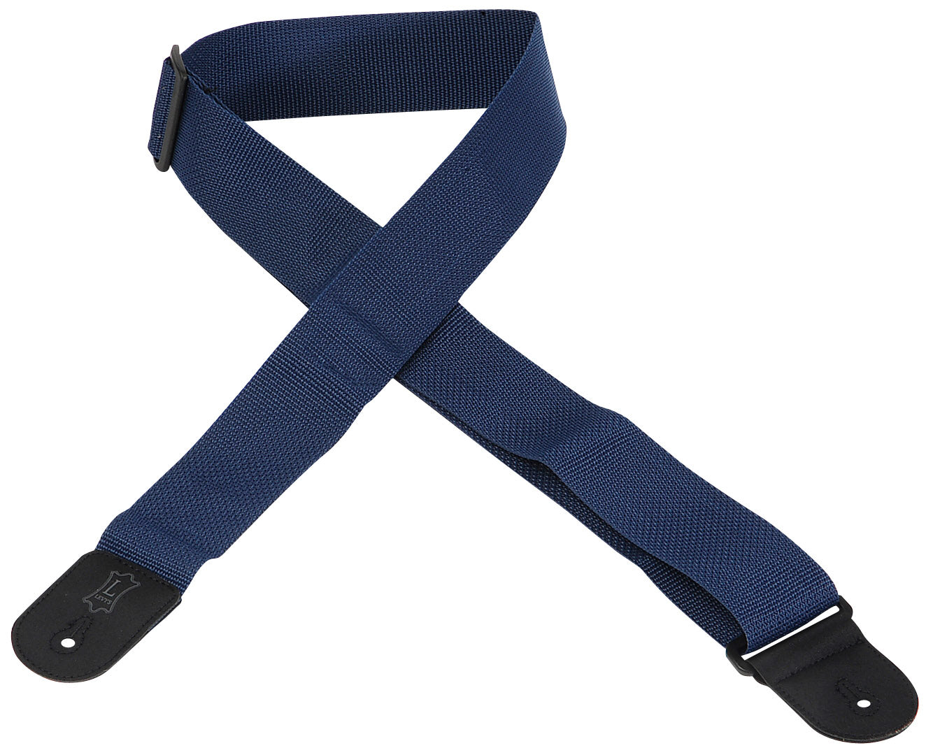 "LEVY'S 2"" POLYPROPYLENE GUITAR STRAP NAVY"