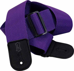 "LEVY'S 2"" POLYPROPYLENE GUITAR STRAP PURPLE"