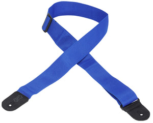 "LEVY'S 2"" POLYPROPYLENE GUITAR STRAP ROYAL BLUE"