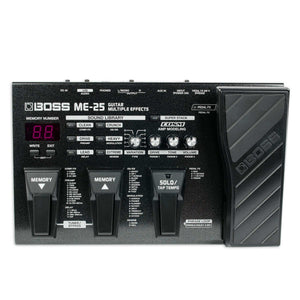 BOSS ME-25 MULTIPLE GUITAR EFFECTS