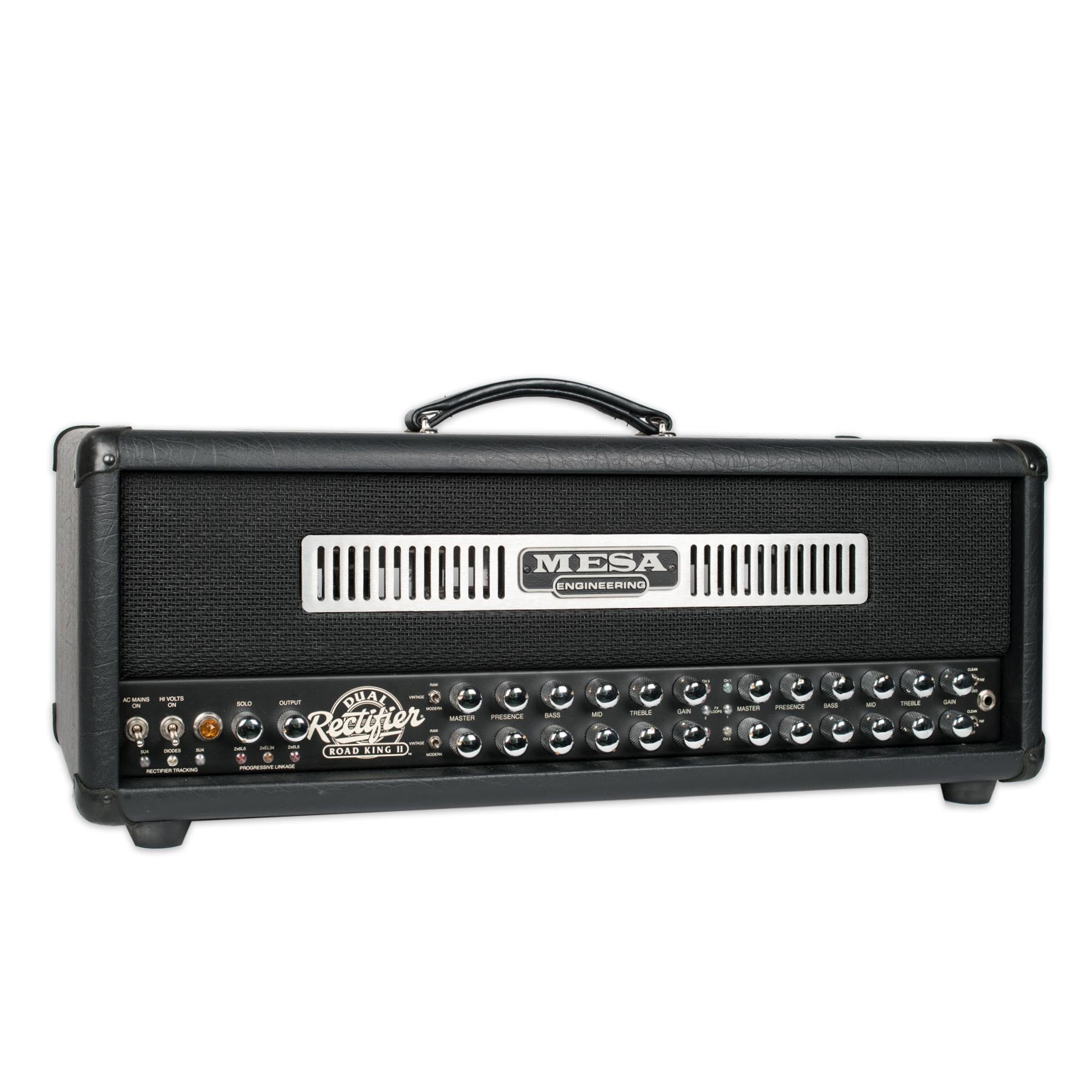 USED MESABOOGIE DUAL RECTIFIER ROAD KING II WITH FOOTSWITCH AND MANUAL