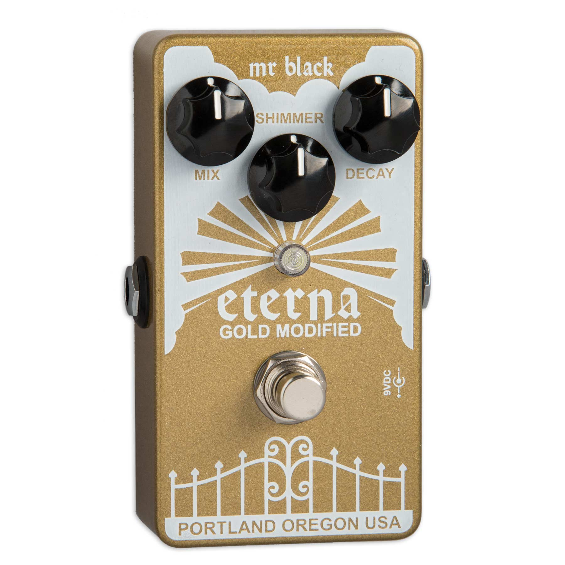 MR. BLACK ETERNA GOLD MODIFIED SHIMMERING REVERBERATOR
