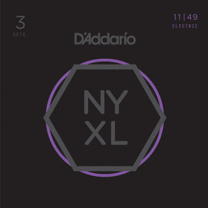 D'ADDARIO NYXL MEDIUM 11-49 3 PACK