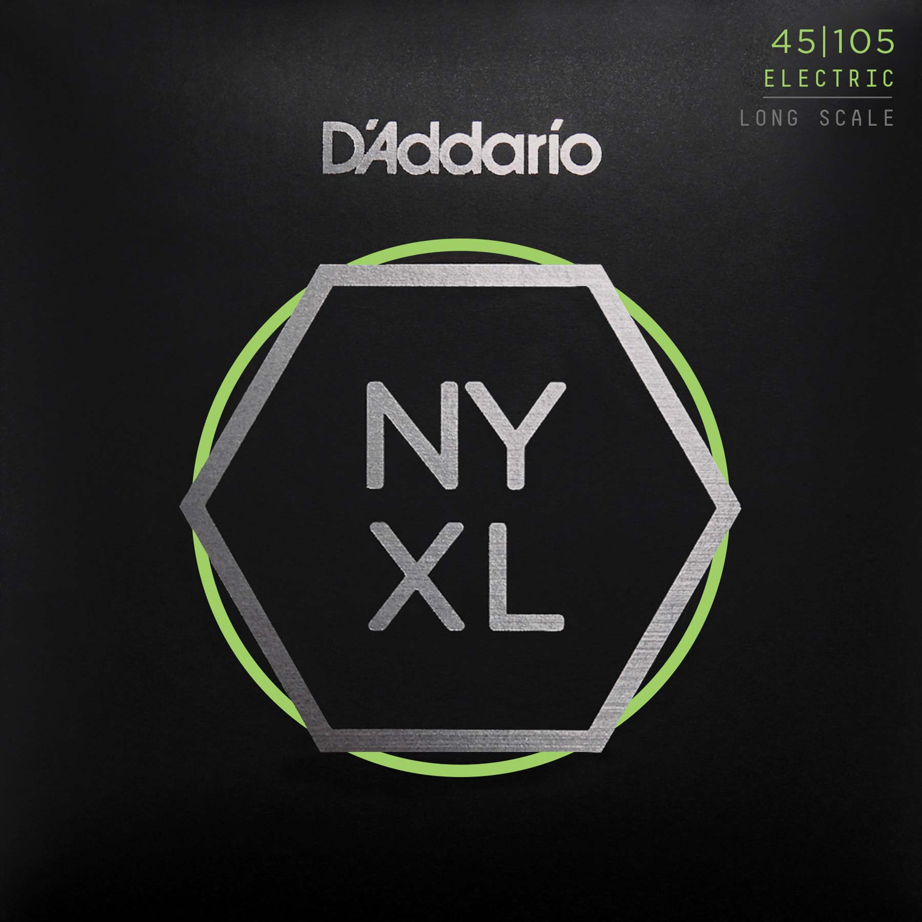 D'ADDARIO NYXL LONG SCALE BASS STRINGS 45-105