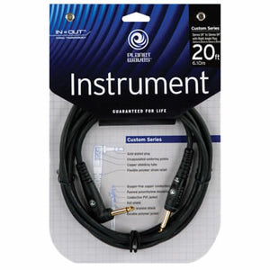 PLANET WAVES CUSTOM 20' RIGHT ANGLE INSTRUMENT CABLE