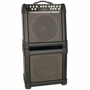 USED QUILTER MICROPRO MACH2 W/ MATCHING 1X12 CAB, COVERS, AND FOOTSWITCH