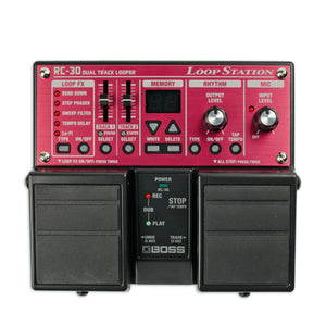 BOSS RC-30 DUAL TRACK LOOPER LOOPSTATION