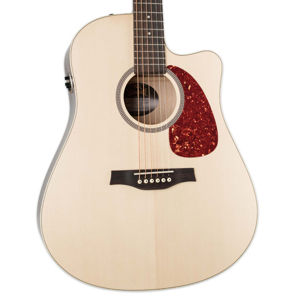 SEAGULL COASTLINE S6 SLIM CUTAWAY SPRUCE WITH QI PICKUP AND BAG