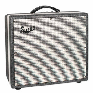 "SUPRO 1695T BLACK MAGICK 1x12"" COMBO GUITAR AMPLIFIER"