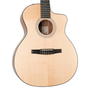 TAYLOR 114CE-N, WALNUT/SITKA, NYLON STRING ACOUSTIC ELECTRIC GUITAR