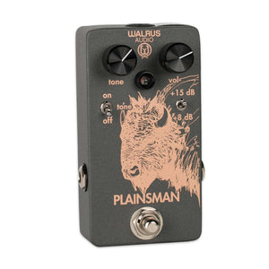 WALRUS AUDIO PLAINSMAN DUAL STAGE BOOSTER