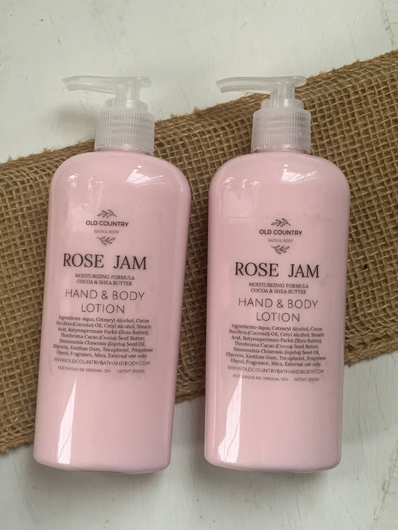 Rose Jam Hand & Body Lotion