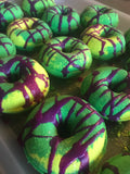 HULK smash the lime Donut Bath Bomb