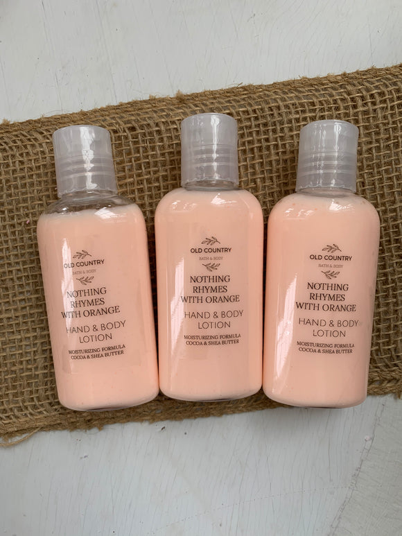 Nothing rhymes with orange Hand & Body Lotion