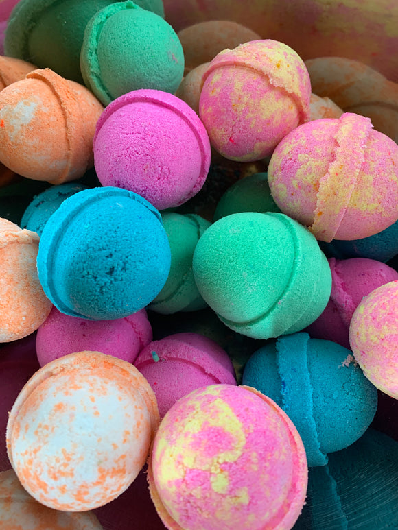 Fun & Fruity Bath Bomb Mini's