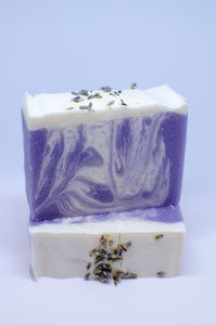 Lavender Soap with Goats Milk