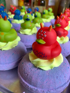 Monster Mash Duck Donut Bath Bomb