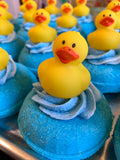 Duke the Duck Donut Bath Bomb