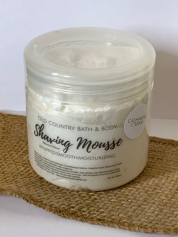 Cashmere Cream Shaving Mousse