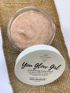 You Glow Girl face scrub.
