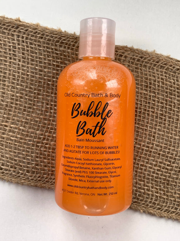 Nothing Rhymes with Orange Bubble Bath