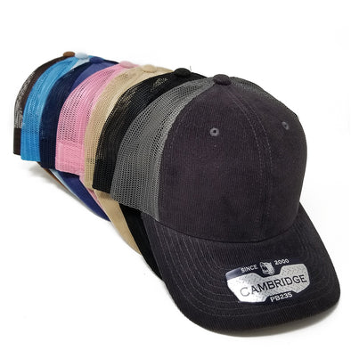 PB235 Pit Bull Cambridge Corduroy Trucker Hat [MULTI COLOR]