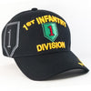 MI184 1st  Infantry Division Military Caps Wholesale [Black]