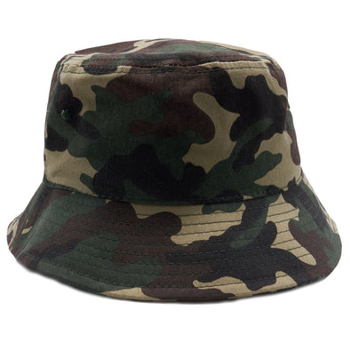 PB183 Pit Bull Plain Washed Cotton Fisherman Bucket Hats [Multi Color]